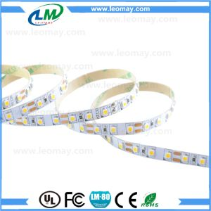 12/24V 3528 Non-Waterproof warm white LED Tape (96LEDs/m) pictures & photos