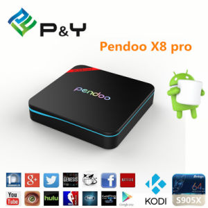 P&Y Pendoo X8PRO Google Play Store S905X TV Box pictures & photos