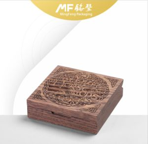 High-End Original Wooden Hot-Pressing Rigid Gift Package Box pictures & photos