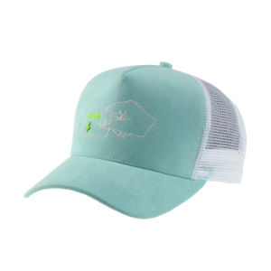 Custom Embroidery Green/White Snapback Trucker Cap pictures & photos