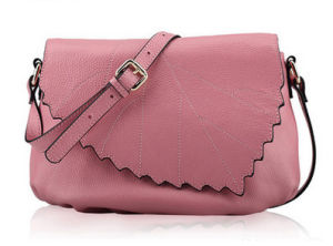 2017 New Style Leaf PU Crossbody Bag Women Shoulder Bag