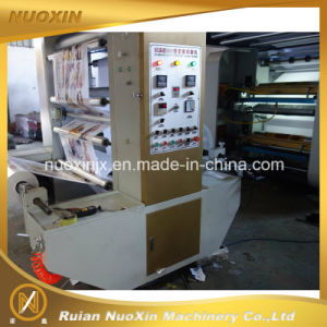 130m/Min 4 Colour High Speed Plastic Film Flexo Printing Machine pictures & photos