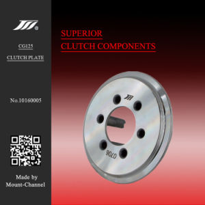 Cg125 6 Columns 8 Slots Motorcycle Clutch Pressure Plate for Honda pictures & photos