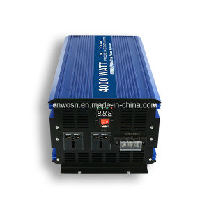 Converter 48VDC to 220VAC off Grid 4000W Solar Power Inverter pictures & photos