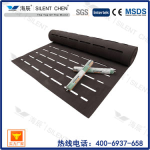 2mm Soundproof EVA Foam Underlayment with Long Hole pictures & photos
