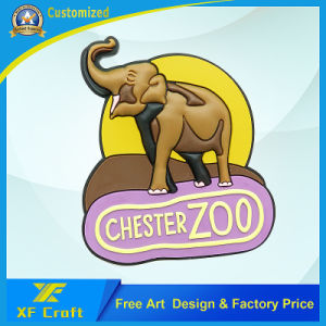 Professional Custom Logo PVC Rubber Fridge Magnet for Promotion (XF-FM03) pictures & photos