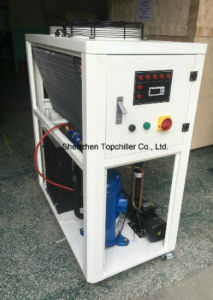 12kw/18kw Portable Air Cooled Packaged Water Chiller with Danfoss Scroll Compressor pictures & photos