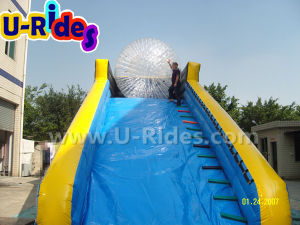 Hot Sports Inflatable Zorb Ramp with Zorb Ball pictures & photos
