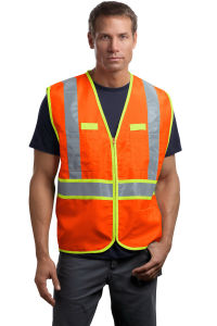 Cornerstone - ANSI 107 Class 2 Dual-Color Safety Vest pictures & photos