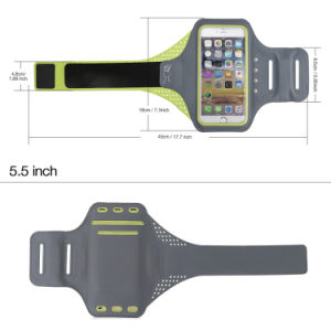 Custom Logo Self-Powered Fingerprint Unlock LED Reflective Armband pictures & photos