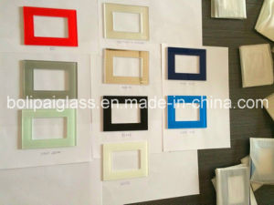 Export to India Switch Glass Plate/Glass Panel/Switch Glass Cover pictures & photos