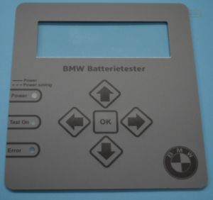 Customized BMW Control Keypad Membrane Switch pictures & photos