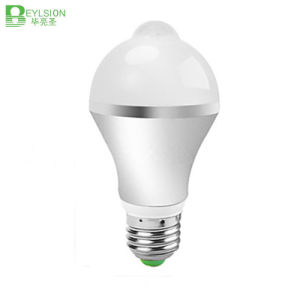 5W E27 Infrared Human Sensor LED Bulb Lights pictures & photos