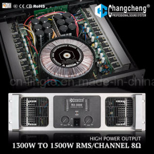 Rx High Power Class H Professional Power Amplifier pictures & photos