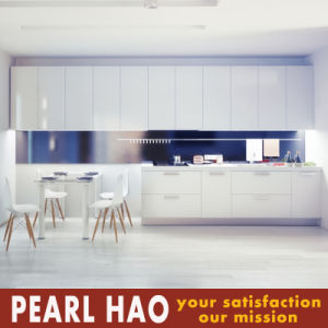 Customized High End Lacquer Wood Kitchen Cabinet pictures & photos