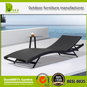 2017 Best Sell Textilene Outdoor Sun Lounger pictures & photos