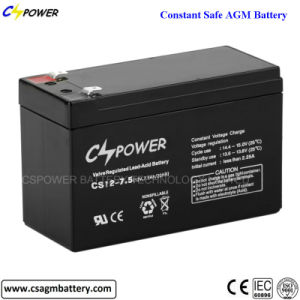 12V7ah VRLA Lead Acid Rechargeable UPS Battery pictures & photos