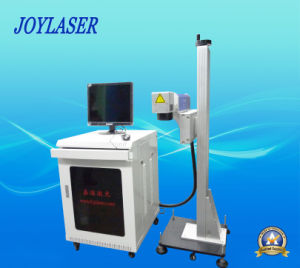 Street Price Optical Fiber Laser Flying Marking Machine pictures & photos