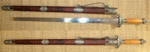 Chinese Tai Chi Sword/Carbon Steel Martial Arts Sword Jian pictures & photos