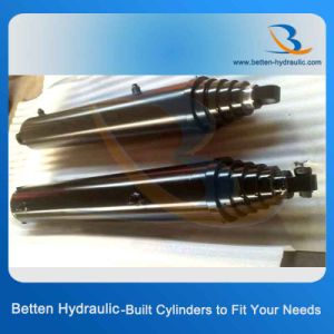 Dump Truck Hydraulic Cylinder 3/4/5 Stage Telescopic Hydraulic Cylinder pictures & photos