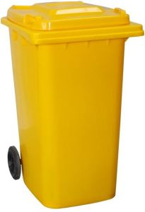 HDPE Plastic Wheeled Dustbin (240L) pictures & photos