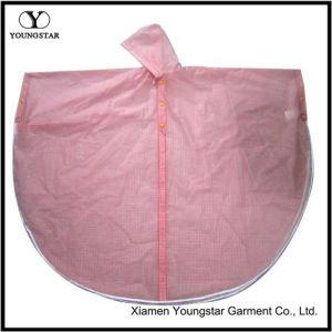 Pretty Design PVC Rain Cape / Rain Poncho for Lady pictures & photos