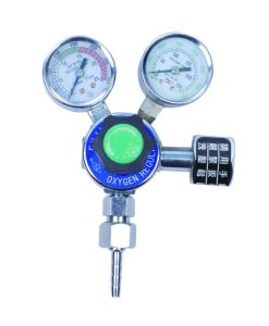 Medium Duty Single Stage Oxygen Regulator, 150 Psi Delivery Range, Cga 540 Inlet Connection pictures & photos