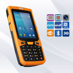 Rugged IP65 Protection 1d 2D Barcode Reading Handheld Inventory Scanner pictures & photos