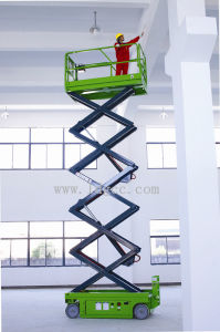 320kg 10meters Automatic Electric Scissor Lift with QZYG100-32 pictures & photos