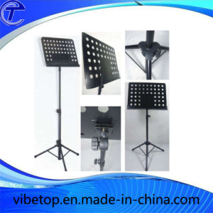 Folding Guitar Music Stand Made of High Quality Stainless Steel pictures & photos