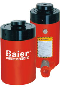 Single Acting Hydraulic Jack with Lock Function Lifting pictures & photos