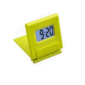 Small Folding Consice Cheap Digital Topdesk Clock for Travel pictures & photos