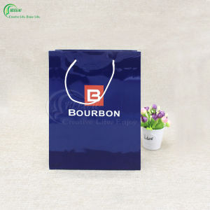 Hot Sale Fashion Custom Shopping Paper Bag with Handle (KG-PB072) pictures & photos