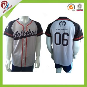 Dri-Fit OEM Sublimation Baseball Jerseys/ Baseball Uniforms with Wholesale pictures & photos