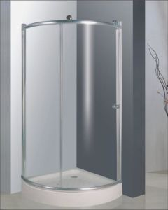 Bathroom 6mm Glass Big Roller One Door Quadrant Shower Enclosure (BR729) pictures & photos
