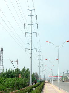 132kv Steel Transmission Line Tower pictures & photos