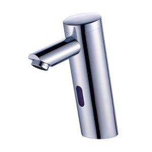 Flg Single Cold Auto Touch Sensor Bathroom Basin Faucet pictures & photos