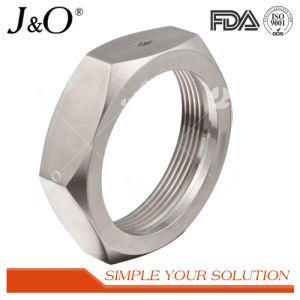 Sanitary Stainless Steel Tube Union Pipe Fittings Hexgon Nut pictures & photos