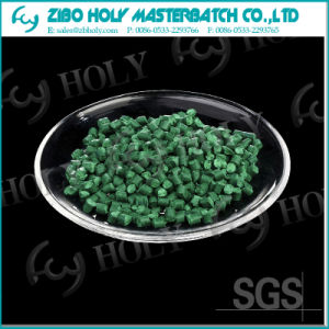 Raw Materials Pigment Plastic Green Color Master Batch pictures & photos