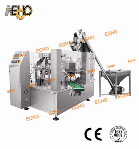 Mr8-200RF Flour Rotary Packing Machine with Stand-up Bag pictures & photos