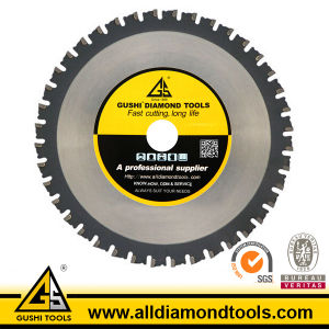 Brazed Tct Circular Saw Blade for Cutting Metal pictures & photos