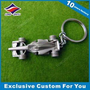 Custom 3D Mold Car Shape Keychain Fancy Metal Keychain with Keyring pictures & photos