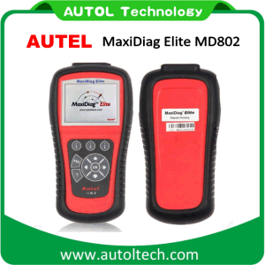 Autel Maxidiag Elite MD802 All System +Ds Model Full System Ds+Epb+Ols+Data Stream Autel MD802 Full System pictures & photos