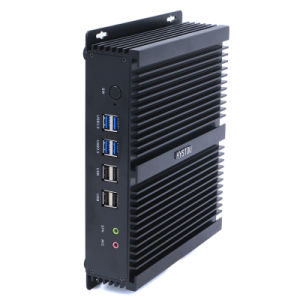 Intel Core I3 4010u Industrial Mini PC with Dual LAN 6 COM pictures & photos