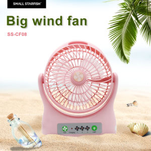 Big Size Portable USB Mini Fan Rechargeable pictures & photos