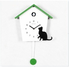 Contracted Promotional Candy Color Cuckoo Clocks