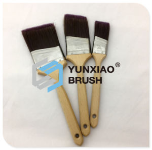 Bristle Angular Sash Brush with Wood Handle Painting Tool pictures & photos