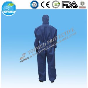 Disposable Nonwoven Coverall/Protective Coverall China Manufacturer pictures & photos