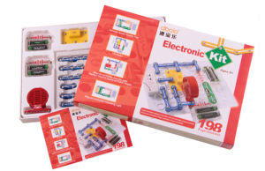 Hot Sale Education Materials for Schools 198 Projects Snap Circuits for Kid, Discovery Science Kit, Kids Training Program pictures & photos