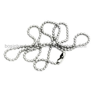 61cm Metal Silver Ball Chain Necklace pictures & photos